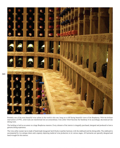 FWC high quality wooden custom made wine racks