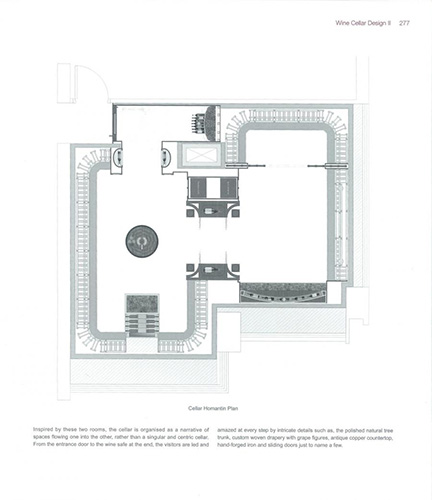 FWC traditional wine cellar plan