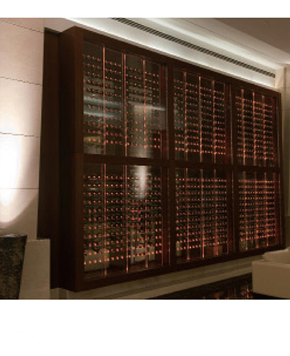 FWC custom wine wall - Marriott Hotel