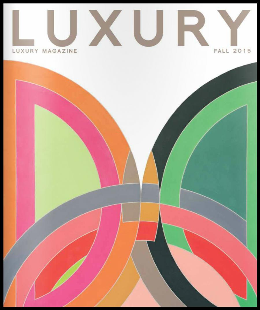 publication - Luxury magazine Fall 2015
