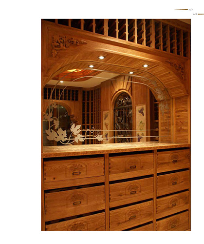 FWC wooden custom wine racks - Hong Kong