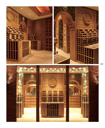 FWC grande private bespoke walk-in wine cellar